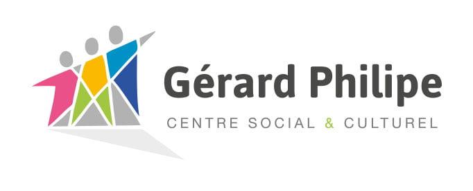 nouveau logo 2015 du centre social et culturel Gérard Philipe