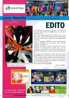 Dernières Nouvelles - juin 2016