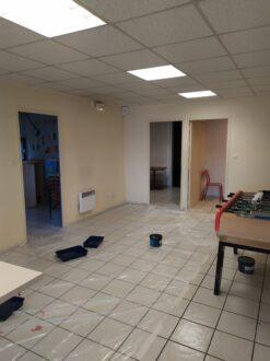 Rénovation du hall du secteur jeune